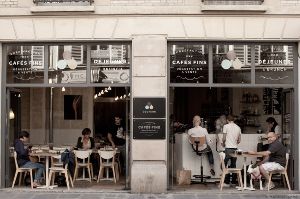 Cafe Coutume, Paris, France